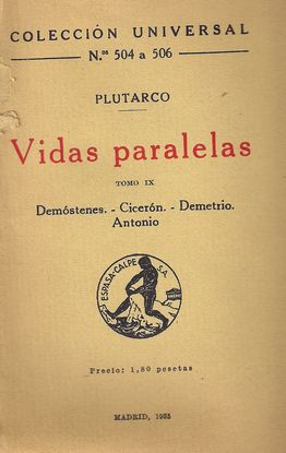 VIDAS PARALELAS, TOMO IX