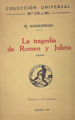 LA TRAGEDIA DE ROMEO U JULIETA