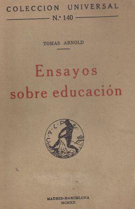 ENSAYOS SOBRE EDUCACIÓN