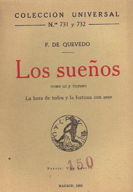 LOS SUEÑOS TOMO III Y ÚLTIMO