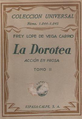 LA DOROTEA TOMO II