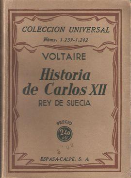 HISTORIA DE CARLOS XII REY DE SUECIA