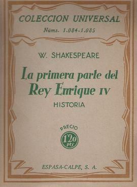 LA PRIMERA PARTE DEL REY ENRIQUE IV