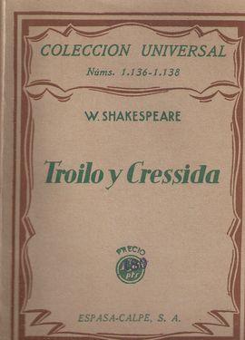 TROILO Y CRESSIDA