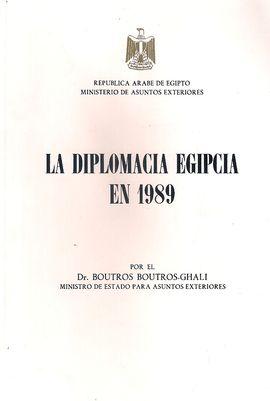 LA DIPLOMACIA EGIPCIA EN 1989