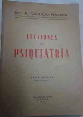 LECCIONES DE PSIQUIATRÍA.