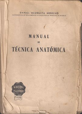 MANUAL DE TÉCNICA ANATÓMICA