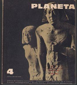 REVISTA PLANETA Nº 4 MARZO ABRIL 1965