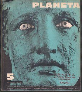 REVISTA PLANETA Nº 5 MAYO JUNIO 1965