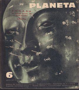 REVISTA PLANETA Nº 6 JULIO AGOSTO 1965