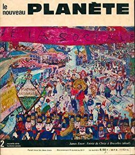 REVUE LE NOUVEAU PLANÈTE.  Nº 2 OCTUBRE /NOVEMBRE 1968