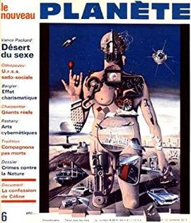 REVUE LE NOUVEAU PLANÈTE.  Nº 6.  AVRIL 1969