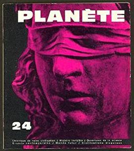 REVUE PLANETE.  Nº 24 SEPTEMBRE OCTUBRE 1965