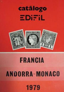 CATALOGO EDIFIL, FRANCIA ANDORRA-MONACO 1979