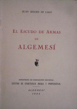 EL ESCUDO DE ARMAS DE ALGEMESÍ.