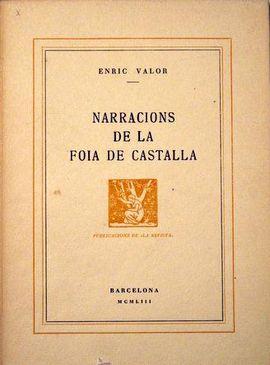 NARRACIONS DE LA FOIA DE CASTALLA.
