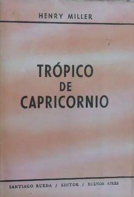 TRÓPICO DE CAPRICORNO