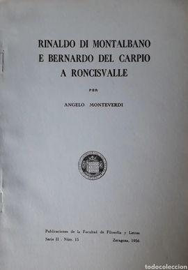 RINALDO DI MONTALBANO E BERNARDO DEL CARPIO A RONCESVALLE