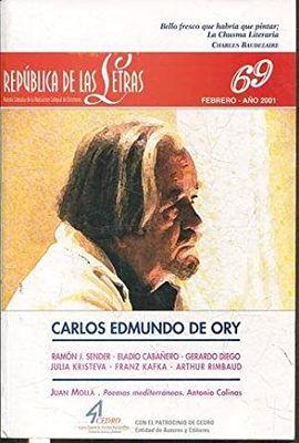REPÚBLICA DE LAS LETRAS. NÚMERO 69. FEBRERO 2001. CARLOS EDMUNDO DE ORY.