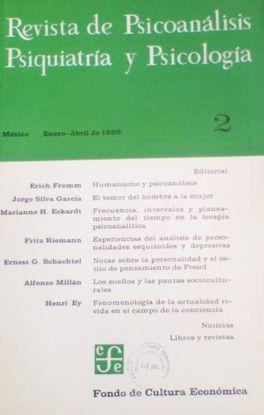 REVISTA DE PSICOANALISIS, PSIQUIATRIA Y PSICOLOGIA. Nº 2. ENERO ABRIL 1966