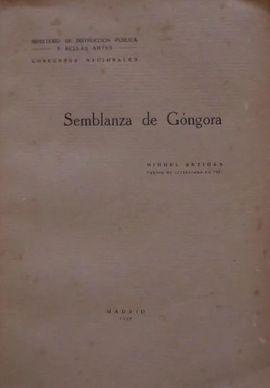 SEMBLANZA DE GÓNGORA