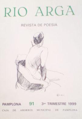 REVISTA DE POESIA:  RIO ARGA. PAMPLONA 91 3º TRIMESTRE 1999