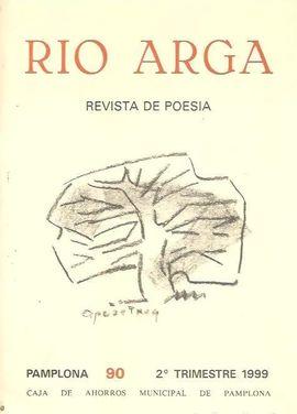 REVISTA DE POESIA:  RIO ARGA. PAMPLONA 90 2º TRIMESTRE 1999