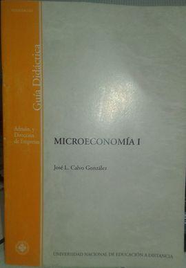 MICROECONOMIA I : GUIA DIDACTICA