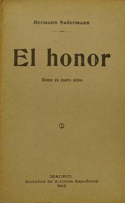 EL HONOR.