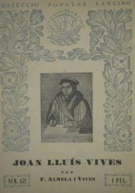 JOAN LLUIS VIVES - - Nº 132, 1936
