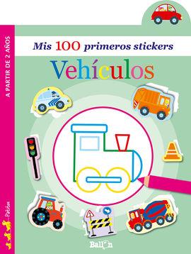 VEHÍCULOS - MIS 100 PRIMEROS STICKERS