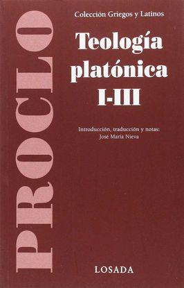 TEOLOGÍA PLATÓNICA I-III