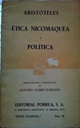 ETICA NICOMAQUEA POLITICA